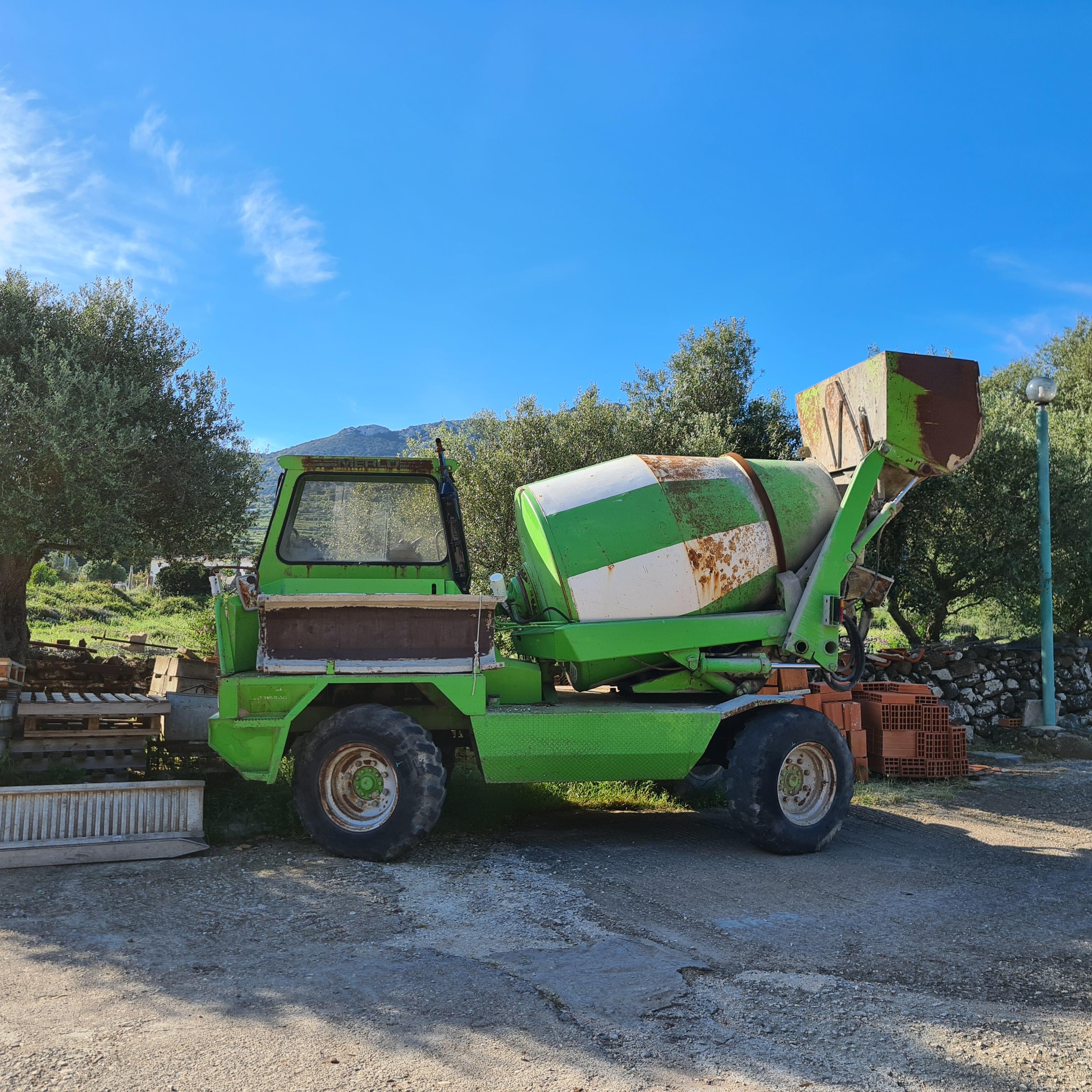 Merlo dumper betoniera dbm 2500 in vendita - foto 6